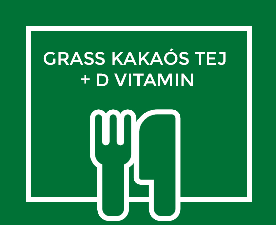 GRASS KAKAÓS TEJ + D VITAMIN
